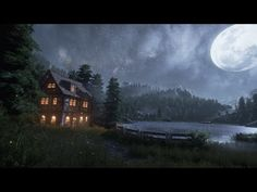 Creating a quick Unreal Engine 4 Night/Lake Scene - YouTube