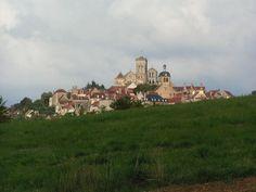 Vézelay - Burgundy France - French countryside