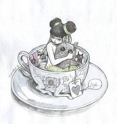 Chiara Bautista is the artist. Art And Illustration, Illustrations, Chiara Bautista, Character Art, Character Design, Dibujos Cute, Estilo Anime, 3d Drawings, Art Moderne