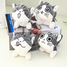 Janpan Cat Anime Chis Sweet Home Keychain Toys Plush Cat Stuffed Animal Small Pendant Dolls Gift Plush Toys Stuffed Animals, Stuffed Animal Cat, Stuffed Toys, Chi's Sweet Home, Cat Keychain, Cat Doll, Toys Shop, Gifts For Kids, Kitty