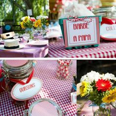 1000 images about guinguette on pinterest mariage - Deco table guinguette ...