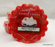 Yankee Candle Red Velvet Wax Tart