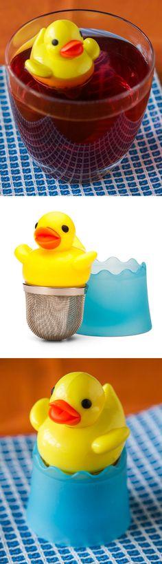 Duck tea infuser // so cute!