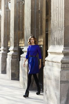 I love this bright cobalt blue! and it looks great on all skin types fair, medium, olive or dark skin! dg