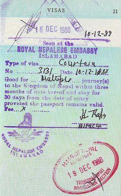 Israel Visa Stamp  Visa Stamps    Israel