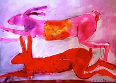 Richard Snowden I Love You All, North Yorkshire, Art Sketchbook, Animal Paintings, Hare, Rabbits, Vignettes, Animal Pictures, Bunnies