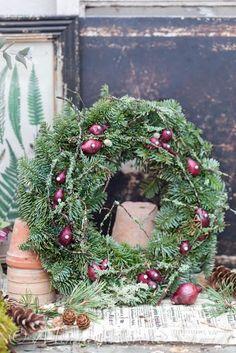 Blomsterverkstad: Tips till 10  julkransar att göra själv