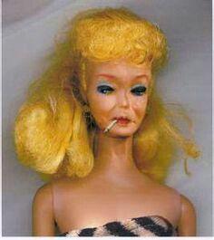 old smoking hot Barbie