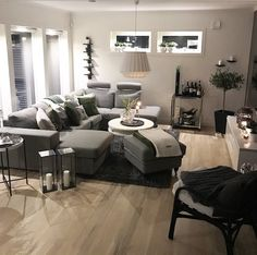 Unique Home Decor Reflects Your Taste and Style – Home Decor Do It Yourself Living Room Grey, Home Living Room, Apartment Living, Living Room Designs, Living Room Decor, Living Spaces, Bedroom Decor, Decoration Gris, Unique Home Decor