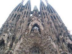 Sagrada Familia temple. Barcelona, Spain