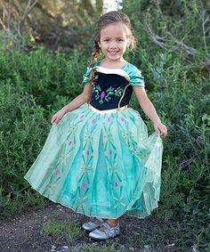 Another great find on #zulily! Green & Black Princess Dress - Toddler & Girls by Little Miss Fairytale #zulilyfinds