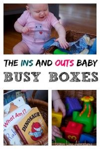10 Baby Busy Box Ideas - Lemon Lime Adventures