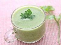 Try this tasty creamy broccoli soup Kefir Recipes, Detox Recipes, Gluten Free Recipes, Vegan Recipes, Yummy Recipes, Jack Food, Broccoli Soup Recipes, Tasty, Yummy Food