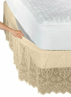 Amazon.com - Lace Std. Pillow Sham -