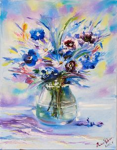 Canvases, Still Life, Oil, Floral, Flowers, Painting, Painting Art, Paintings, Canvas