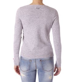 v-neck jumper from Odd Molly grey melange