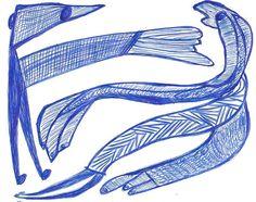 «Zwei langgliedrige Figuren im Dialog», 1983. Der wichtige Mannheimer Aussenseiterkünstler Ernst Kolb ist heute (noch) fast unbekannt. Das dürfte sich wohl ändern. Im Dezember 2012 hat die «Collection de l'Art Brut» in Lausanne 26 Zeichnungen erworben und in der Fachzeitschrift RAWVISION, werden seine Zeichnungen in der nächsten Nummer (Nr.79) einem breiteren Publikum vorgestellt. Gut 100 seiner Zeichnungen können bereits jetzt auf www.artbrut.li oder www.aussenseiterk... entdeckt werden.