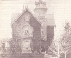 "From the Germantown Courier; Wednesday, May 4th, 2005.  ""Shown is the John Wyckoff Gibbs house at 400 Walnut Lane, built 1858.  He was a merchant with a store in the city in Market St."""