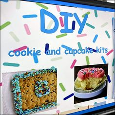 Single Serve Cookie, Binder Decoration, Cookie Display, Ring Cake, Icing Techniques, Store Fixtures, Industrial Chic, Cupcake Cookies, Cake Decorating