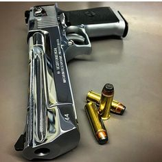 WEBSTA @ tacticare - Mornin' How about a high polished Desert Eagle .44 Magnum to kick off the week via @illmanneredgunrunner707 ☀️☕️ Work hard and stay safe!