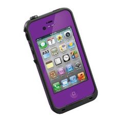I think I like the purple one better than the pink! Amazon.com: LifeProof Case for iPhone 4/4S - Retail Packaging - Pink: Cell Phones & Accessories