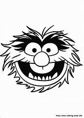 Image result for Animal Muppet Coloring Pages