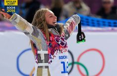 Jamie Anderson wins gold in slopestyle, Bode Miller disappoints in men's downhill, team figure skating: Highlights from Day 2 of competition at the 2014 Winter Games. Paralympic Athletes, Olympic Athletes, Olympic Team, Winter Olympic Games, Winter Games, Us Olympics, Winter Olympics, Jamie Anderson, Olympic Committee