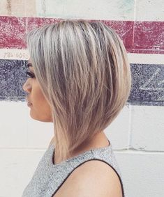 Top Angled Bob Short Hairstyles Easy to Style Hairstyles