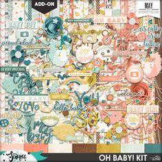 Oh Baby! Digital Kit - Storyteller May 2017 Add-on