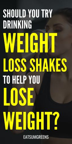 But what exactly are weight loss shakes?These are high-protein powders or drinks mixed with healthy fruits and vegetables that you can use to replace a meal. They're considered a safer option as they provide the same nutritional benefits a meal would. Detox Diet For Weight Loss, Lose Weight Fast Diet, Healthy Weight Loss, How To Lose Weight Fast, Weight Loss For Women, Best Weight Loss, Weight Loss Tips, Weight Loss Shakes, Weight Loss Drinks