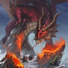 ArtStation - Bruno Cesar Dragon Rpg, Fire Dragon, Fantasy World, Fantasy Art, Dragon Anatomy, Legendary Dragons, Go Go Power Rangers, Dragon Pictures, Paladin