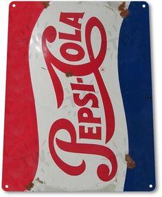 Pepsi Cola Retro Tin Sign Man Cave Home Decor Garage Woman