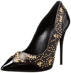 0b7064f3427 Giuseppe Zanotti Women s Applique Pointed Toe Dress Pump