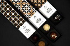 Vosges (truffes en chocolat)   Design (projet étudiant) : Kajsa Klaesén (School of Visual Arts), New-York, Etats-Unis (septembre 2015)