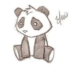 Panda Drawing Images Panda Drawing Pictures & Graphics - Page Cute Drawing Images, Cute Panda Drawing, Beautiful Drawings, Pictures To Draw, Drawing Pictures, Pictures Images, Photos, Drawing Sketches, Drawing Ideas