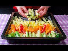 Nagyon kevesen készítik így a zöldségeket  Cookrate - Magyarország - YouTube Saveur, Cobb Salad, Zucchini, Sushi, Grilling, Food And Drink, Ethnic Recipes, Vegetarian, Recipes