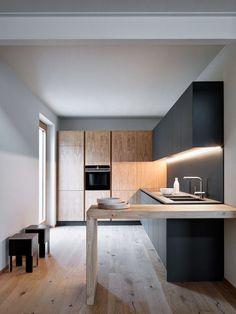 Home Decor Kitchen Cupboards Ideas Modern Kitchen Design, Interior Design Kitchen, Kitchen Contemporary, Home Decor Kitchen, Home Kitchens, Decorating Kitchen, Decorating Blogs, Kitchen Ideas, Küchen Design