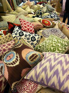 pillows, pillows, everywhere!