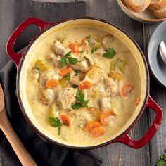 Ragoût de poulet ail et parmesan - 5 ingredients 15 minutes
