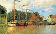 Bateaux à Zandaam (C Monet - W 189) | Flickr - Photo Sharing!