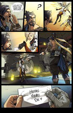 Tom Furber Illustration — 2 Page Overwatch comic, based on this. Get rekt...