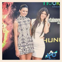 From my photo archive, Kylie and Kendall Jenner. #HungerGames #redcarpetphotography #stevesolisphotography - @stevesolisphotography- #webstagram