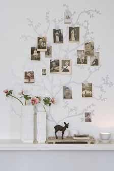 deco & style - Bildergalerie Dekoration - Bauer Living tree decal for family tree