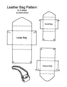 to Make a Leather Bag / Handbag / Shoulder Bag / Purse - Pattern and Tutoria. -How to Make a Leather Bag / Handbag / Shoulder Bag / Purse - Pattern and Tutoria. - How to Make a Leather Bag / Handbag / Shoulder Bag / Purse - Pattern and Tutorial Leather Bag Tutorial, Leather Bag Pattern, Handbag Tutorial, Diy Handbag, Diy Bags Purses, Purses And Handbags, Gucci Purses, How To Make Handbags, Leather Projects