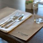 Place setting at Kitchen No. 324 in Oklahoma City