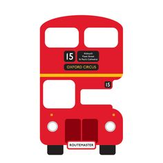 london bus front - Google Search Baby Clothes Quilt, Baby Quilts, London Red Bus, Special Birthday Cards, London Cake, Wheels On The Bus, Free Motion Embroidery, Felt Decorations, Red Art