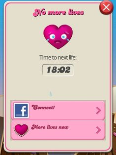 As any Candy Crush addict knows, there is nothing more depressing that coming up against the countdown of doom.