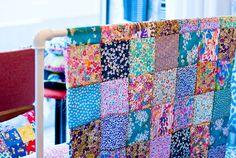 novamelina  www.novamelina.com  #liberty #of #london #fabric #handmade #patchwork #quilt Liberty, London, Quilts, Blanket, Fabric, Handmade, Scrappy Quilts, Tejido, Political Freedom