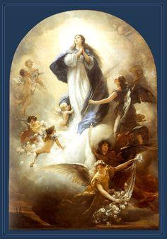 The Assumption of Mary - by Ludwig von Löfftz. Happy feast day everyone!!!