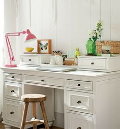 Gild and Grace: The perfect home office...